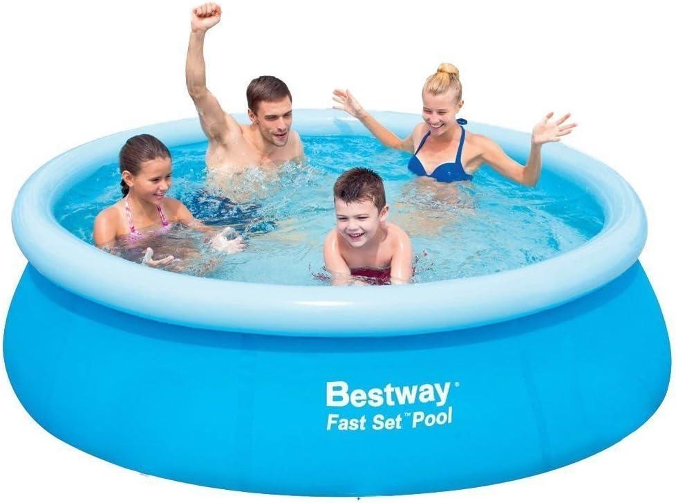 Bestway 57265 Piscina Fast Set autoportante diámetro 244x66H cm no bomba hierro 245623