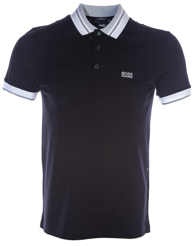 L BOSS Paule 3 Polo Shirt in noir