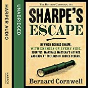 Sharpe's Escape: The Bussaco Campaign, 1810: The Sharpe Series, Book 10 | Bernard Cornwell