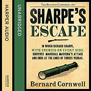 Sharpe's Escape: The Bussaco Campaign, 1810 Audiobook