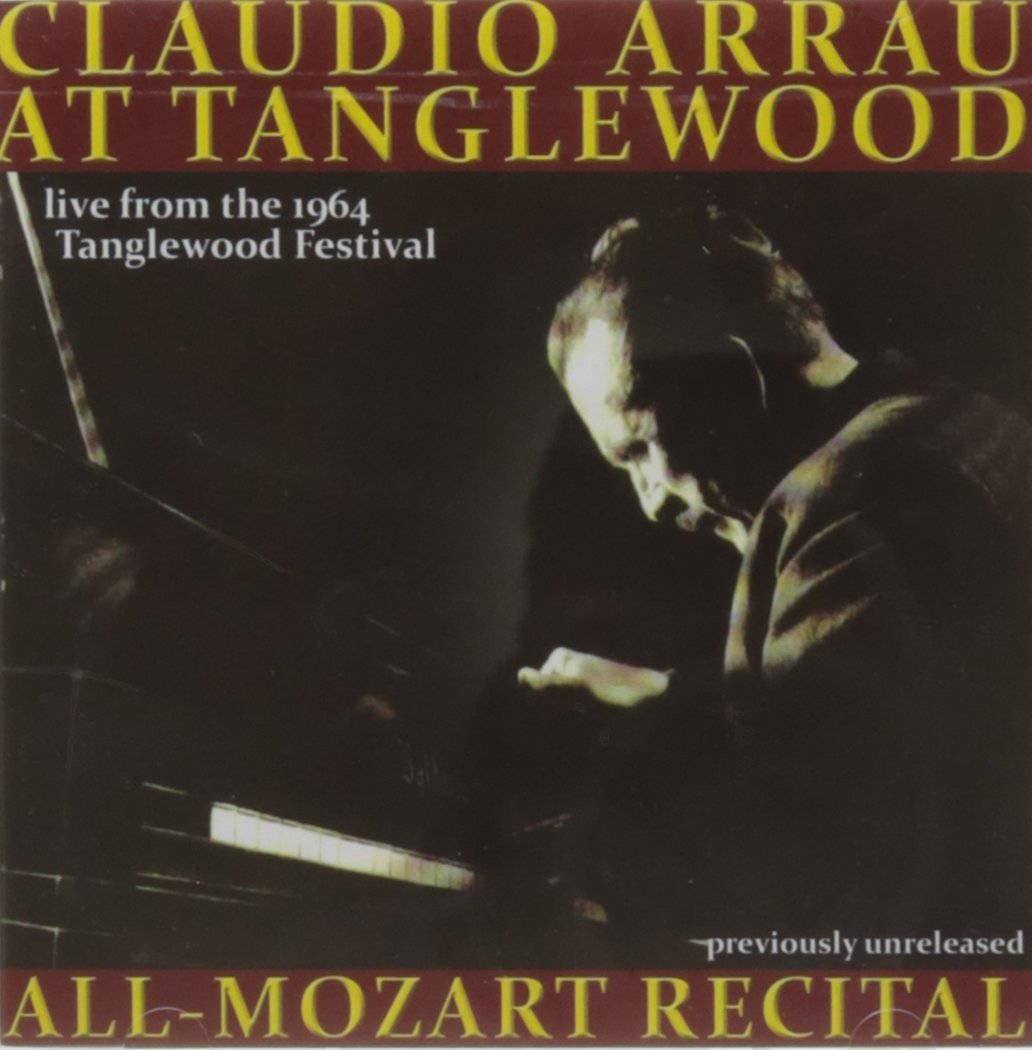 Claudio Arrau Live at Tanglewood