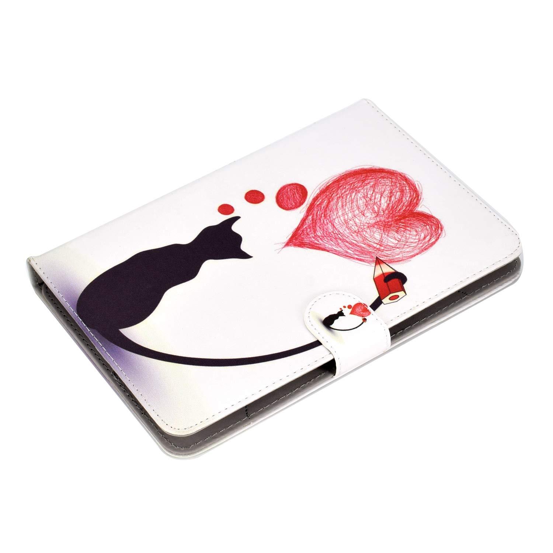 Carcasa Flip Case Cubierta Protectora para iPad 2018,Galaxy Tab A6 10.1//Tab E 9.6,Huawei MediaPad T3 T5//M5 Lite 10 Lenovo Tab4 10//TB-X103F XTstore Funda Universal para Tablet de 9-10.1 Unicornio