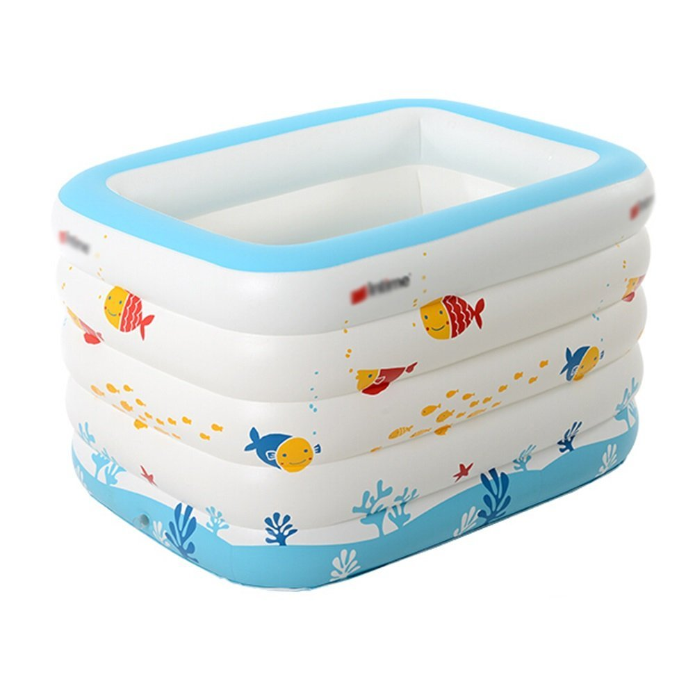 Bathtub Baby Pool White Material  Green PVC Raw Material Size  143  105  80cm (0-6 Years Old)