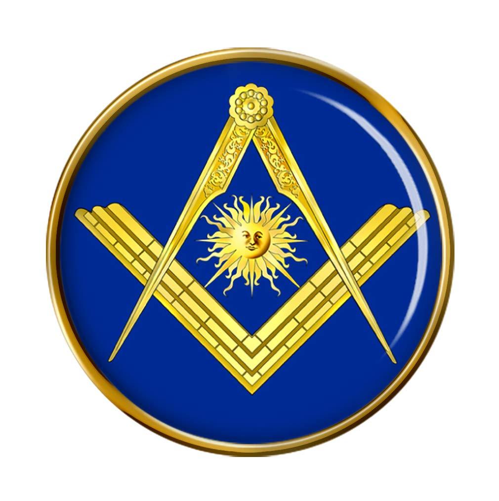 Masonic Senior Deacon Lapel Pin Badge