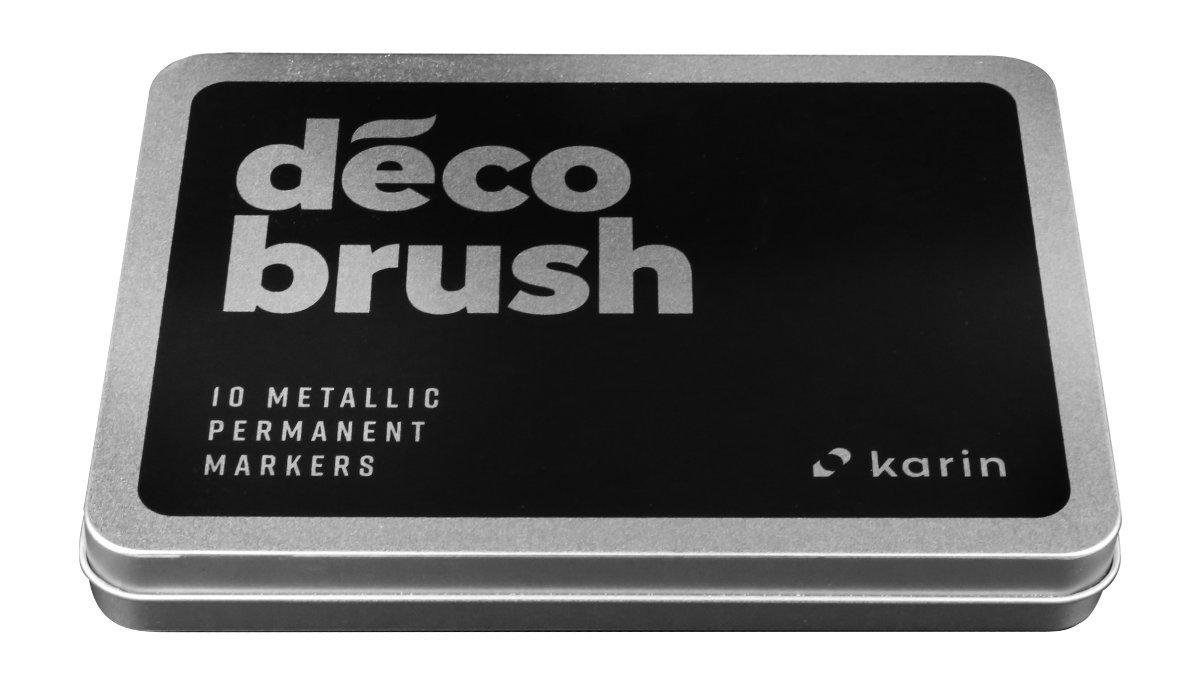 Karin Decob Rush Metallic 10pcs. Set Karin Decob Rush Metallic Pack of 10Crystal Clear Body with Free Ink System, 2.4ml by karin (Image #4)