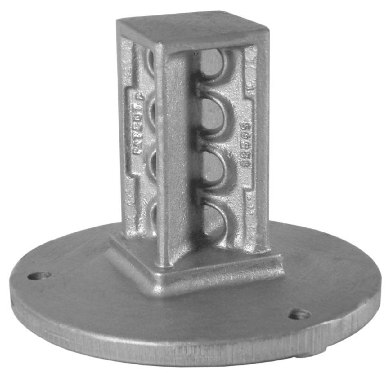 Designovations Inc. S200S SNAP'n SAFE Surface Mount Breakaway Square Sign Post Coupler for 2 Inch Sign Post Size