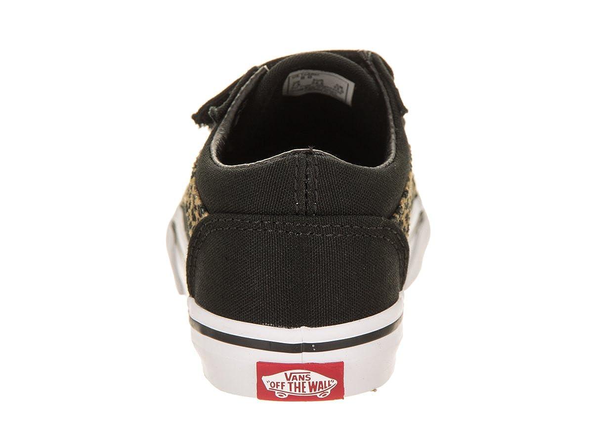 712c1a88e6 Vans Toddlers Old Skool V (Mini Leopard) Skate Shoe  Amazon.co.uk  Shoes    Bags