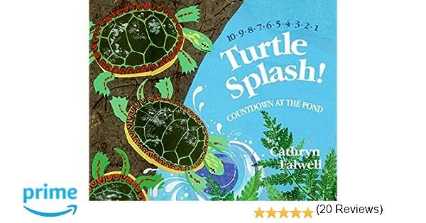 Turtle Splash!: Countdown at the Pond: Cathryn Falwell ...