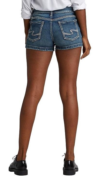 Amazon.com: Silver Jeans Co. Elyse - Pantalones cortos para ...