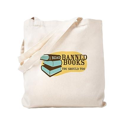 Amazon.com  CafePress - Banned Books - Natural Canvas Tote Bag ... 7b7d89f186b12