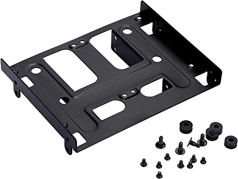 3 Screws Pack 1 Hard Drive Conversion Rack Computer Components Optical Drives 5.25 to 3.5 Optical Drive Bay HDD Hard Drive Mounting Bracket Converter