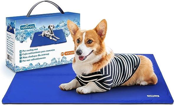 Imbottiture per Cani Antiscivolo Impermeabili su Entrambi i Lati JEANGO Tappetino Refrigerante per Cani M