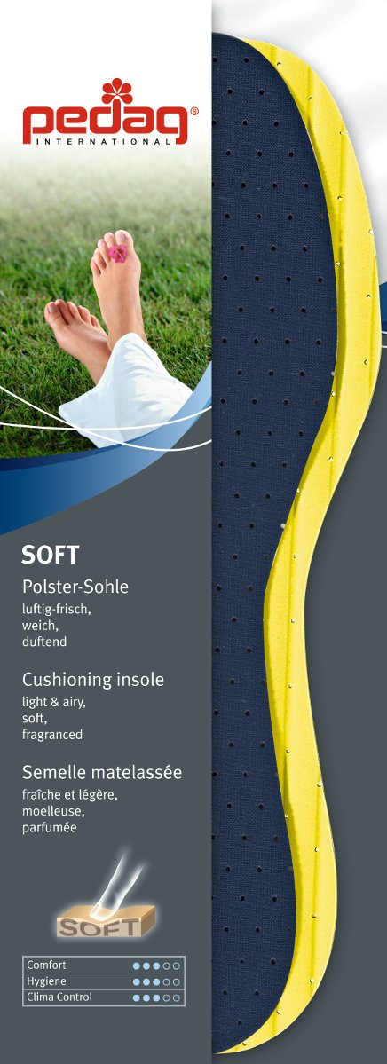 Amazon.com: Pedag Soft Foam Insole, US W6/EU 36, 3 Count: Health & Personal Care