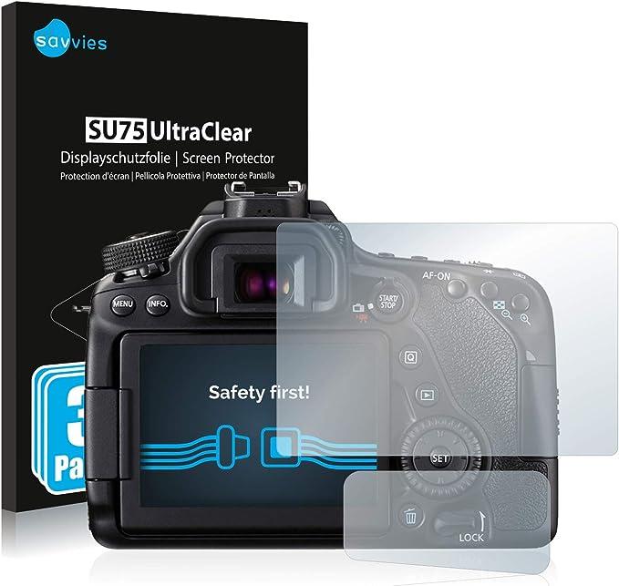 Savvies 6x Schutzfolie Kompatibel Mit Canon Eos 80d Elektronik