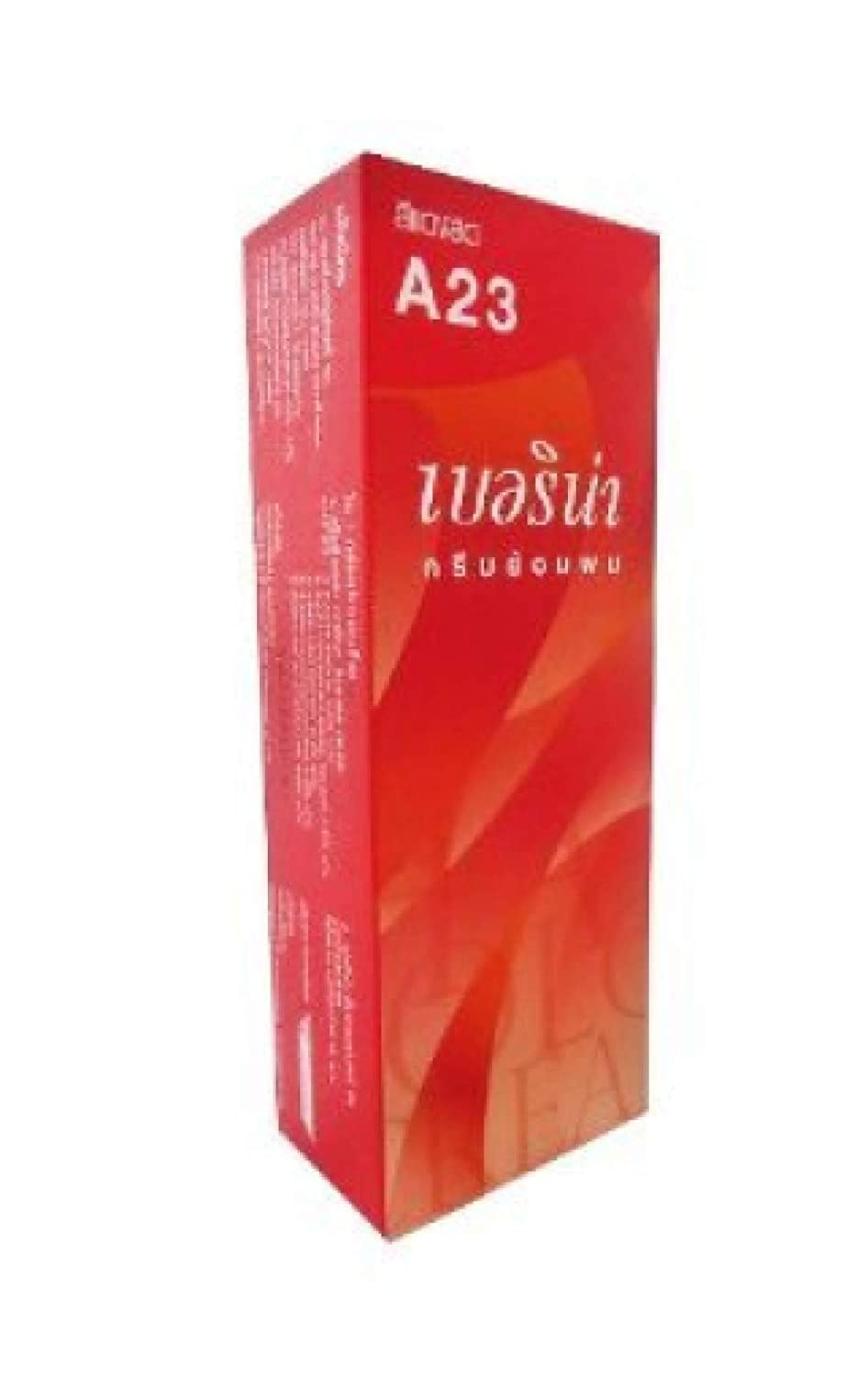 Berina (A23) Permanent Hair Color Dye Bright Red Color