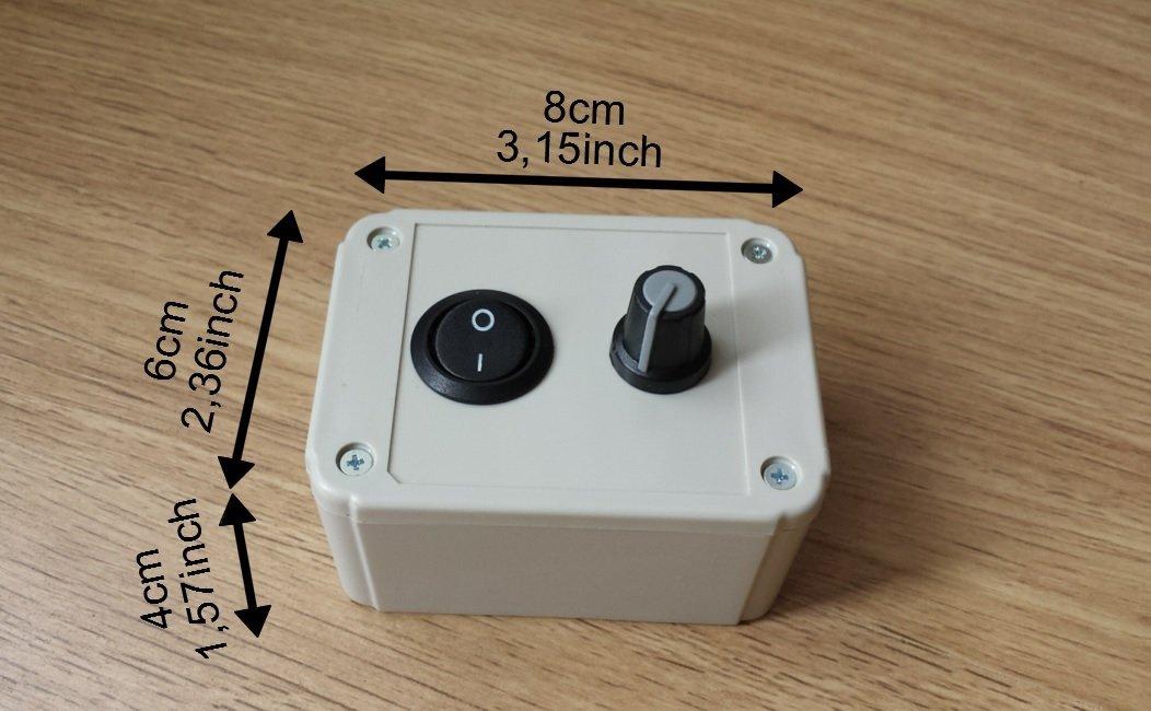 Speed controller regulator governor for drill brush for Installer un variateur de lumiere