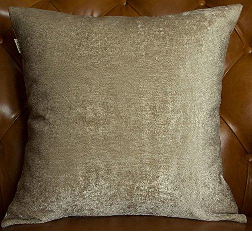 Handmade Sham - TangDepot Handmade Solid Heavy Chenille Decorative Throw Pillow Covers, Pillow Shams, Square pillow covers, Cushion Covers, Pillowcase - (22