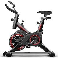 AMTB Bicicleta Estática para El Hogar Bicicleta De Spinning,con Pantallas LCD Súper Silenciosas,para Ejercicio Entrenamiento en Casa
