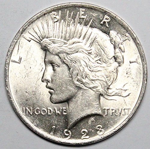 (1923 P Peace Silver Dollar $1)
