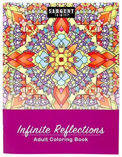 Sargent Art 98-0101 Infinite Reflections Adult Coloring Book
