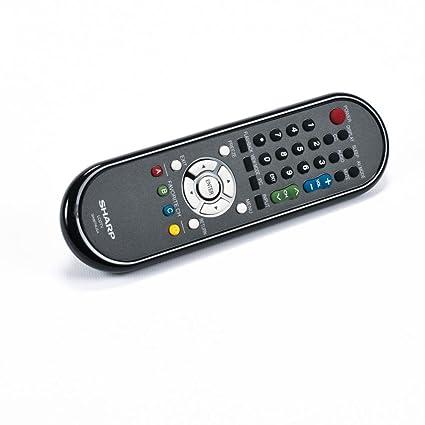 Sharp RRMCGA667WJSA Television Remote Control Genuine Original Equipment  Manufacturer (OEM) part for Sharp