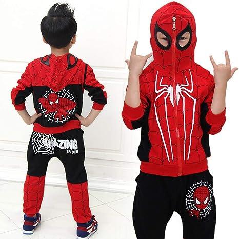 V1 Clothing CO Ropa Infantil de Spiderman, Trajes de ...