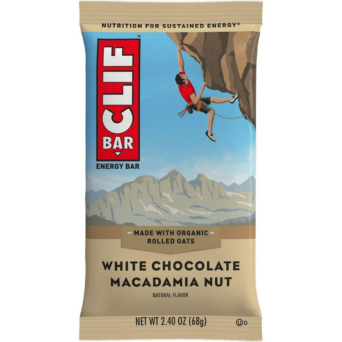 Clif Bar Clifbar 12 Pack White Chocolate Macadamia, One Size by Clif Bar