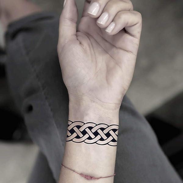 Tatuaje Temporal de Banda celta (2 Piezas) - www.ohmytat.com ...
