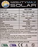 10-Watt-Waterproof-Polycrystalline-Solar-Charger-With-Alligator-Clips-Mighty-Max-Battery-brand-product