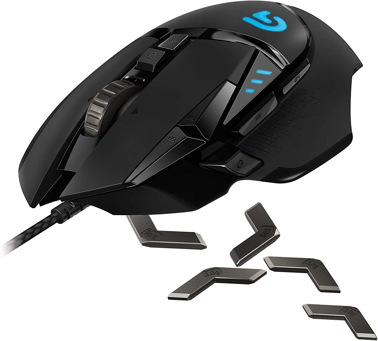 Logitech G502 (Proteus Core) Gaming mice