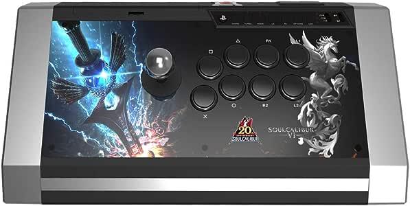 Arcade stick Qanba - Obsidian - édition Soulcalibur 6 - Pro Fightstick avec boutons/Joystick Sanwa compatible PS3/PC - prise jack 3,5 mm [Importación francesa]: Amazon.es: Videojuegos