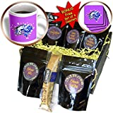 Dream Essence Designs-Fantasy - A magical Unicorn along with fairy sparkles and pretty blue vines - Coffee Gift Baskets - Coffee Gift Basket (cgb_214388_1)