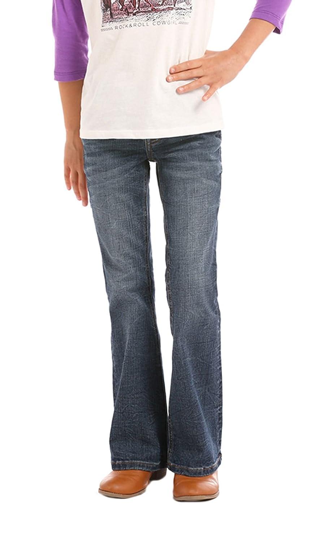 Rock /& Roll Cowgirls Girls Boot Cut Western Jeans