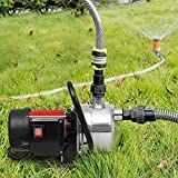 Mewalker Automatic ON/OFF 1.6HP Water Pump, Lawn Sprinkling Pump for Garden Yard Outdoors, US STOCK