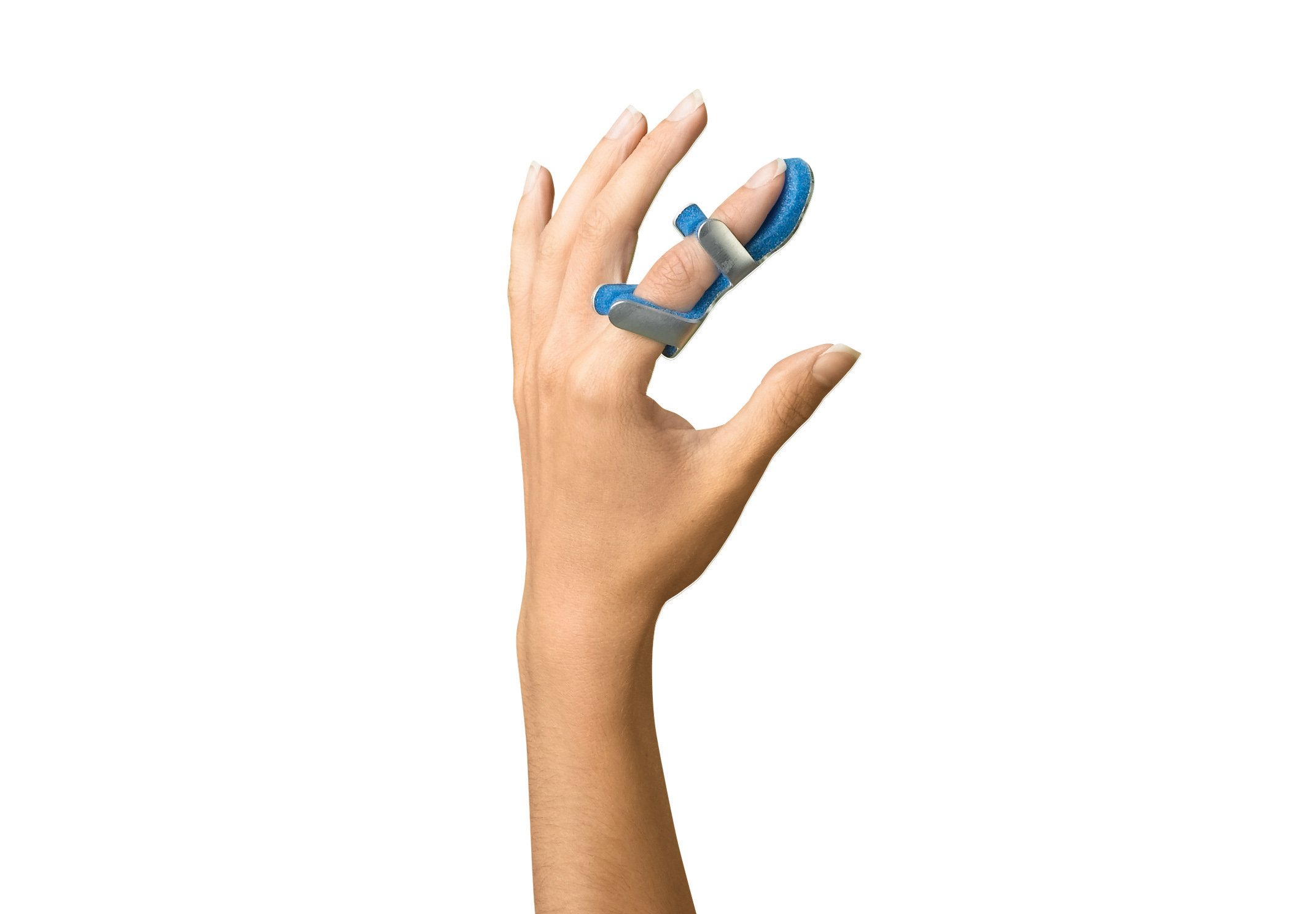Medline ORT32200M Frog Finger Splints, Medium, 3'' x 2.5'' (Pack of 12)