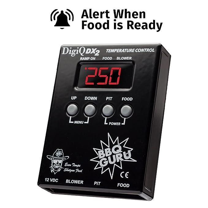 DigiQ Big Green Egg Cooker, control de temperatura, Termómetro Digital de carne para barbacoa o cerámica: Amazon.es: Jardín