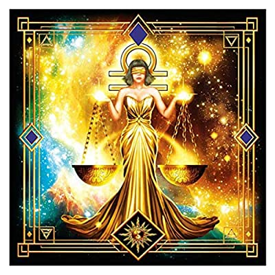 DFHYAR Jigsaw Puzzle, Constellation Games - Signature Collection - Libra - 300 Piece Puzzle, Multi Puzzles 30 × 30 cm: Toys & Games