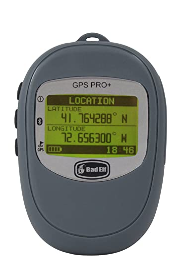 61847cebca6 Amazon.com  Bad Elf 2300 Bluetooth GPS+GLONASS Receiver and Data Logger  with Barometric Altimeter  Cell Phones   Accessories
