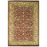 Safavieh Persian Legend Collection PL520A Handmade Traditional Rust and Beige Wool Area Rug (6' x 9')