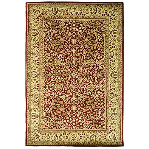 Safavieh Persian Legend Collection PL520A Handmade Traditional Rust and Beige Wool Area Rug (6' x 9') by Safavieh