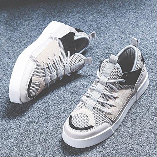 Transpirable Sandales De Gris Salvaje Malla Temporada Estilo Planos Versión Cómodo Zapatos Coreana Deportivo Verano Mujer Nuevo Calzado YUwYP