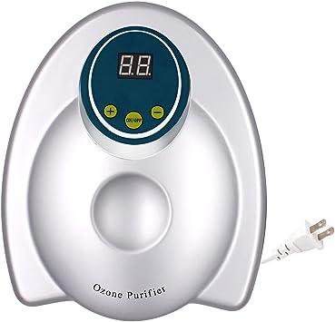 alimentos y m/ás Purificador de ozono multiusos con temporizador para agua Homeey generador de ozono purificador de agua y aire