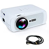 Crenova XPE460 Full HD 1080p 1000-Lumens LED Home Theater Projector