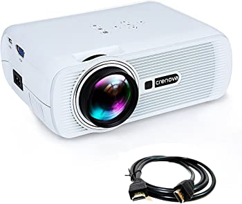 Crenova XPE460 1000-Lumens LED Home Theater Projector