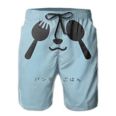 Amazon.com: yutez de playa hombre pantalones cortos Panda ...
