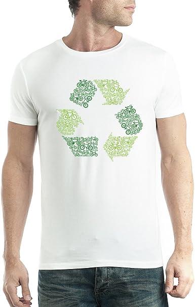 avocadoWEAR Reciclar Firmar Limpiar Tierra Hombre Camiseta XS ...