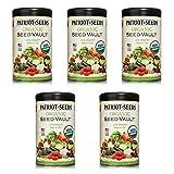 Patriot Seeds Organic Seed Vault Survival Kit - Non-GMO - 100% Heirloom 5 pack