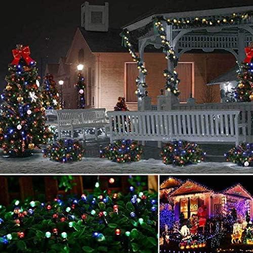 BHJqsy Dekorative Lichter/Weihnachten Schnur-Licht/LED Lichterketten, 10-300m 100-3000 LED 8 Modus-wasserdicht IP67-Fee-Lichterketten for Schlafzimmer Indoor Outdoor-Party Garten Weihnachtsdekorat