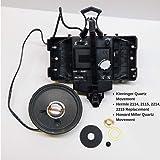 Kieninger QPA21 / HM354474 Chiming Quartz Clock Movement Replaces Hermle 2114, 2214, 2215 or