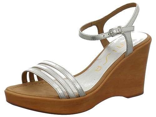 eed950444 Unisa Rufus - Sandalias de Vestir de Piel para Mujer Negro Negro, Color,  Talla 37: Amazon.es: Zapatos y complementos